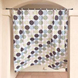 Circle Pattern Shower Curtain